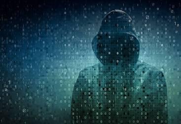 Hood Hacker facing digits on screen