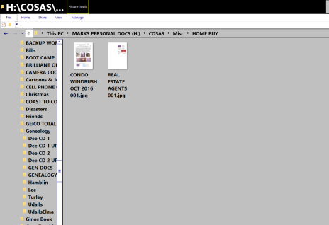 Picture of a Folder in Folder Explorer